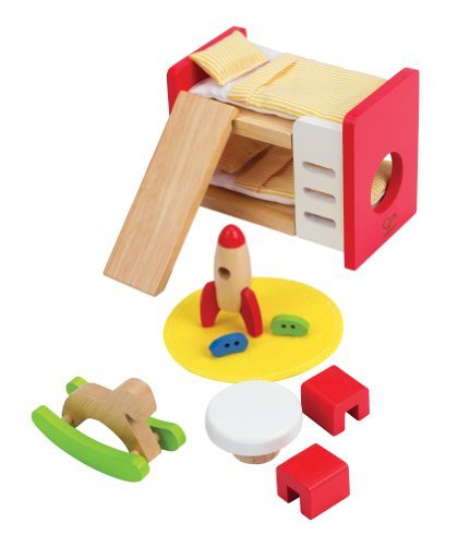 Hape - Happy Family Doll House Furniture - Children'S Room Toy, Kids, Play, Children front-754059