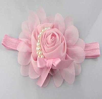 Axiba Baby Flower Headband Girl Lace Infant Hair Weave Baby Accessories