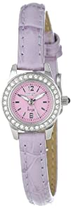 Invicta Womens 13655 Angel Purple Dial Crystal Accented