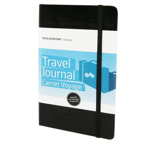 Moleskine Moleskine Passion Journal - Travel, Large, Hard Cover - Black