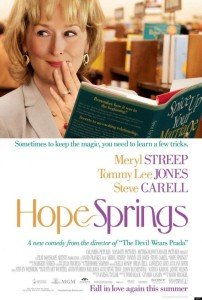 Hope Springs Original Movie Poster One Sheet Mint Meryl Streep Tommy Lee Jones
