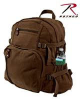 Rothco Vintage Backpack in Earth Brown