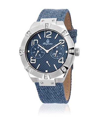 Burgmeister Reloj de cuarzo Atlanta BM611-133 Azul 40 mm