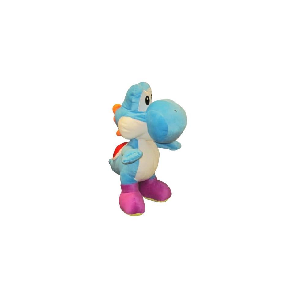 Super Mario Stofftier / Plüsch Figur Blauer Yoshi 75 cm (PMS