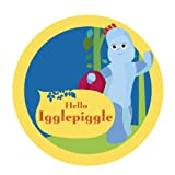 Official In the Night Garden Igglepiggle badge wall sticker (Regular size)