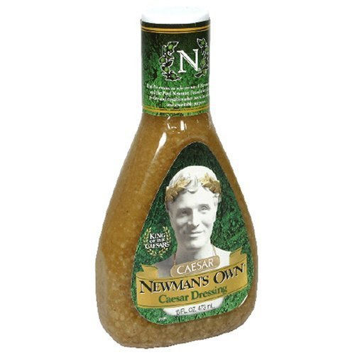Newman's Own Caesar Dressing 16 OZ.(pack of 6)