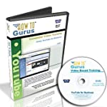 Using YouTube for Business. New Tutorial Training on DVD, 5.5 Hours in 86 Video Lessons. Computer Software Video Tutorials.