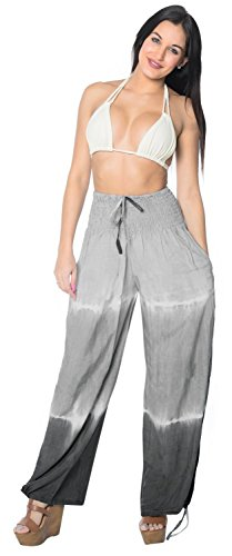 comfy-women-soft-rayon-swimwear-sleepwear-casual-lounge-pajama-loose-pant-grey