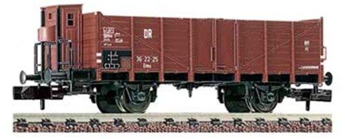 Fleischmann piccolo 8716 - Offener Güterwagen mit Bremserhaus, Bauart Omu der DR