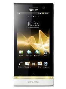Sony Xperia U 1261-4572 Smartphone Bluetooth Wifi GPS Android 2,3 Blanc