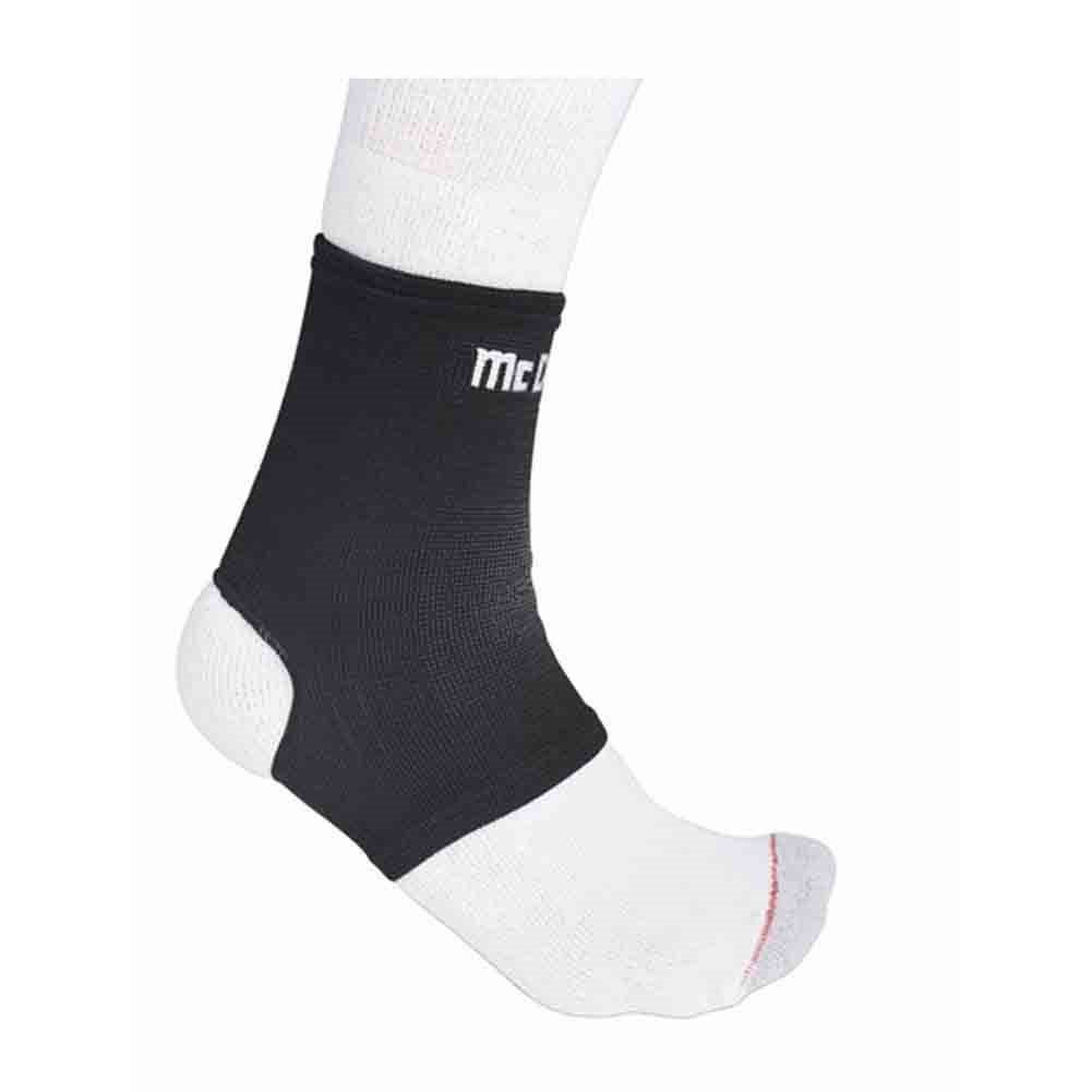 McDavid Classic Logo 511 CL Level 1 Ankle Sleeve / Elastic - Black - Medium mcdavid 6566 compression arm sleeves