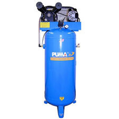 Buy Bargain Puma Industries PK-6060V Air Compressor, Professional/Commercial Single Stage Belt Drive...
