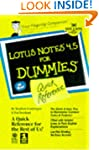 Lotus Notes 4.5 for Dummies Quick Ref...