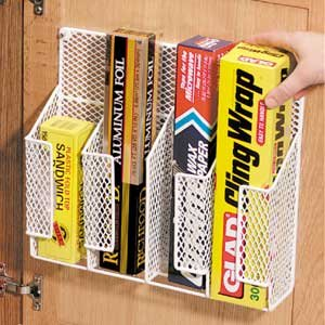 amazon com wire wrap organizer cabinet organizers