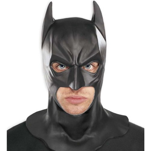 Batman The Dark Knight Adult Cosplay Full Cowl Overhead Collectors Mask
