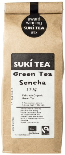 Suki Tea Loose Green Tea Sencha 100 g