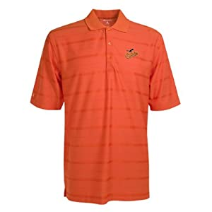 Baltimore Orioles Polo - MLB Antigua Mens Tone Mango by Antigua