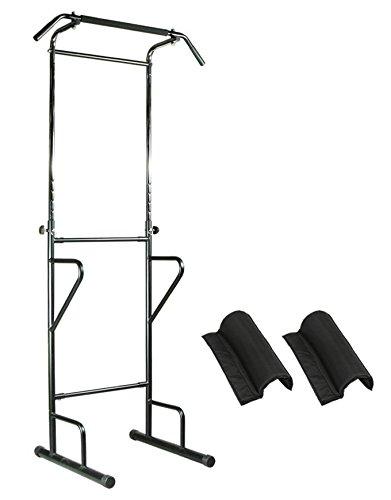 PURE RISE(ピュアライズ) ぶら下がり 健康器 背筋伸ばし 懸垂 腕立 筋トレ 物干しフック付 ブラック