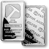 5 Gram Pan American Silver Corp .999 Fine Silver Bar