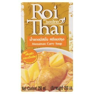 Roi Thai Massaman curry soup, 250 ml. From Thailand by Thailand [並行輸入品]