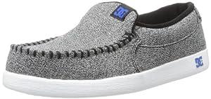 DC Men's Villain TX Skate Shoe,Grey/Black/Blue,9 M US