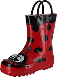 Western Chief Ladybug Rain Boot (Toddler/Little Kid/Big Kid),Red,13 M US Little Kid