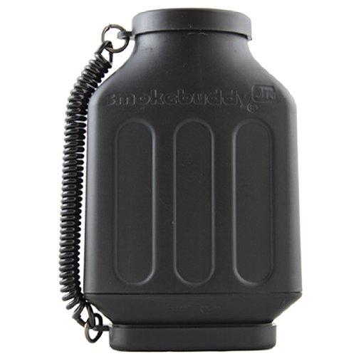 Image of Smokebuddy Jr. (Color: Black) - Personal Air Filter / Purifier (B009V16BM0)