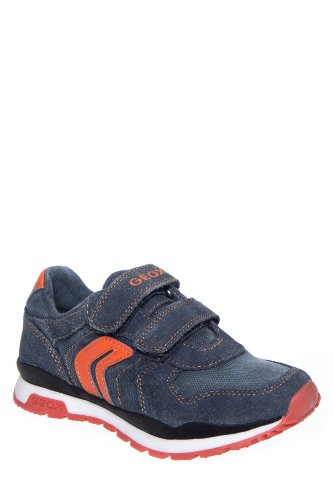 Geox Kid's Jr Pavel Boy Hook & Loop Sneaker
