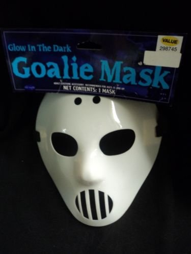 [GOALIE MASK Glow-in-the Dark] (Donald Duck Costume Makeup)