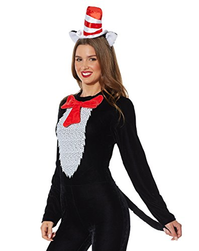 Spirit Halloween Cat in the Hat Accessory Kit - Dr.Seuss (Cat In The Hat Accessories)