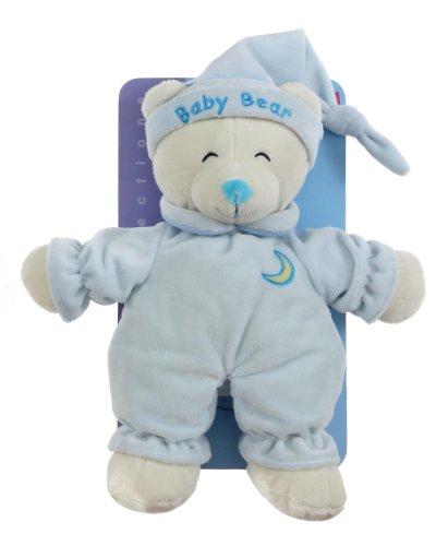 """Gipsy 070108 - Peluche per neonato """"Baby Bear"""" da 24 cm, colore: Blu"""