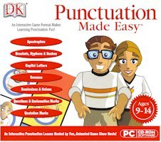 New Dk Multimedia Punctuation Made Easy (Ages 9-14) Compatible With Windows Xp/Vista/Windows 7