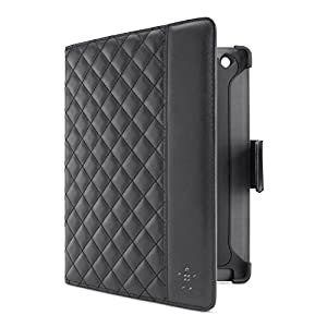 Belkin Quilted Cover with Stand for iPad 2, 3, 4th Gen, Black (F8N880ttC00) by Belkin