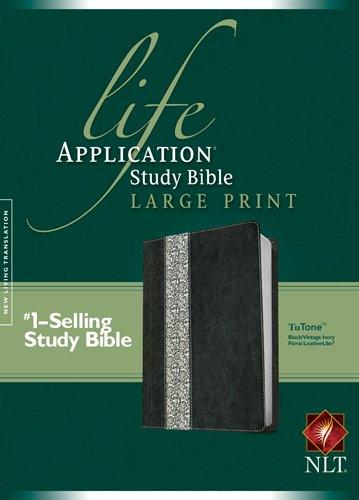 Life Application Study Bible-NLT-Large Print