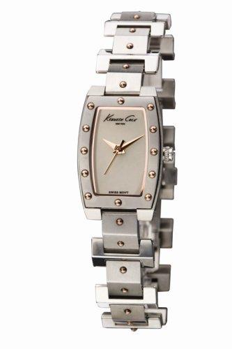 Kenneth Cole Women's KS4011 Swiss Gold-Tone Bracelet Watch