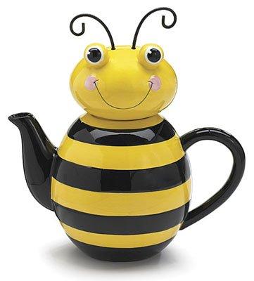Honey Bumble Bee Teapot For Adorable Kitchen Decor