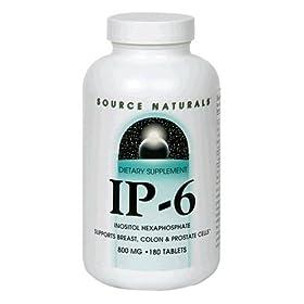 (大牌)Source Naturals六磷酸肌醇IP-6 防脂肪肝/肝硬化/癌症180史低价S&S后$17.14