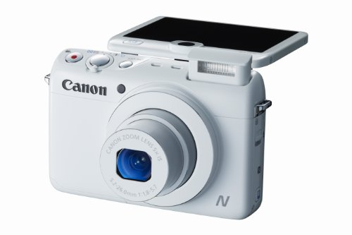 Canon PowerShot N100 HS 12.1MP Digital Camera (White) Review
