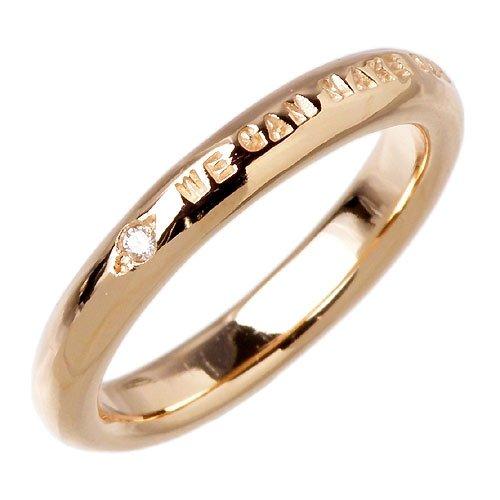 PMR ピーエムアール ピンクコーティング シルバー ダイヤモンド リング 指輪