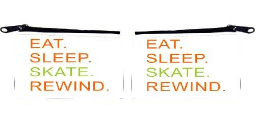Rikki KnightTM Eat Sleep Designs Design Scuba Foam Coin Purse