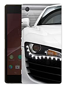 "Super Car Brand R8 Printed Designer Mobile Back Cover For ""Sony Xperia Z3"" (3D, Matte, Premium Quality Snap On Case)"
