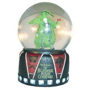 The Nightmare Before Christmas 2009 Jack & Oogie Water Ball