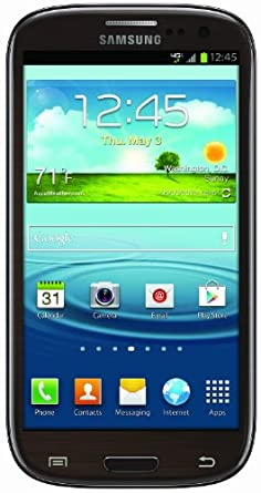 Samsung Galaxy S III 4G Android Phone, Brown 16GB (Verizon Wireless)