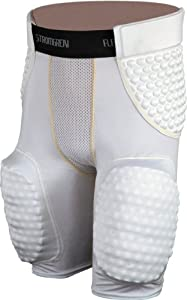 Buy Stromgren Flex Pad III 5-Pad Football Girdle with Shock Hip, Tail and Thigh Pads by Stromgren