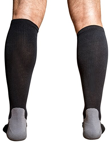 FITSHIT Premium Compression Socks: Graduated Stockings For Men & Women. Guaranteed To Prevent Swelling, Pain, Edema, DVT - Best Crossfit, Athletic Running, Travel, Nurses Diabetic Recovery Sock - Med (Walking Swing Machine compare prices)