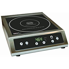 Max Burton 6530 ProChef 3000-Watt Commercial Induction Cooktop