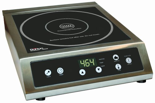 Max Burton 6530 Maxi-Matic ProChef 3000-Watt Commercial Induction Cooktop, Black (Max Burton Induction Cooktop compare prices)