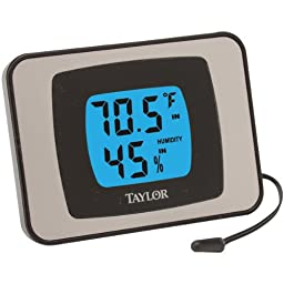 Taylor 1523 Indoor/Outdoor Thermometer (Thermometer & Hygrometer)