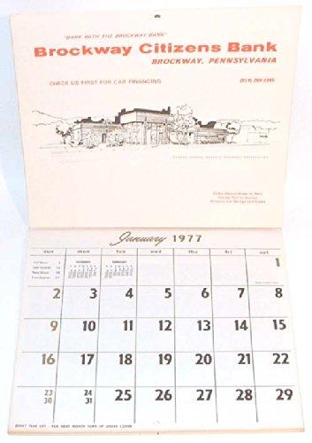 1977-brockway-citizens-bank-advertising-calendar