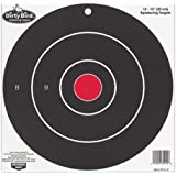 Birchwood Casey Bulls Eye Dirty Bird Splattering Paper Targets (Per 100), 12-Inch